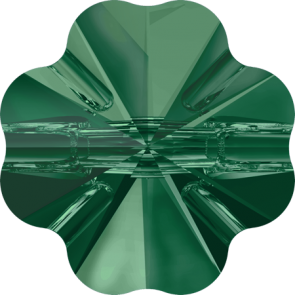 Nasturi Swarovski 3011 Emerald (205) 10 mm