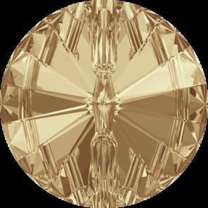 Nasturi Swarovski 3015 Crystal Golden Shadow F (001 GSHA) 10 mm