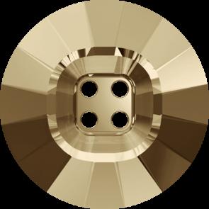 Nasturi Swarovski 3018 Crystal Golden Shadow (001 GSHA) 18 mm