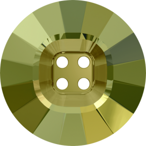 Nasturi Swarovski 3018 Crystal Iridescent Green (001 IRIG) 14 mm