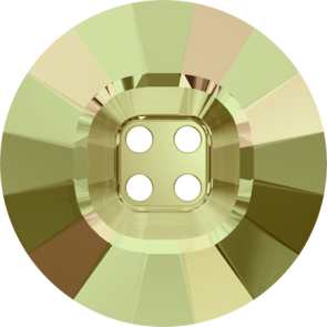 Nasturi Swarovski 3018 Crystal Luminous Green (001 LUMG) 14 mm
