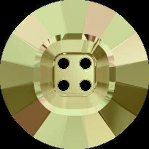 Nasturi Swarovski 3018 Crystal Luminous Green (001 LUMG) 18 mm