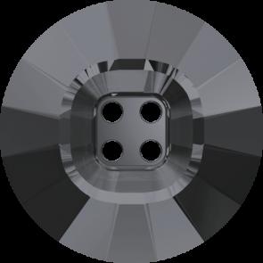 Nasturi Swarovski 3018 Crystal Silver Night (001 SINI) 14 mm