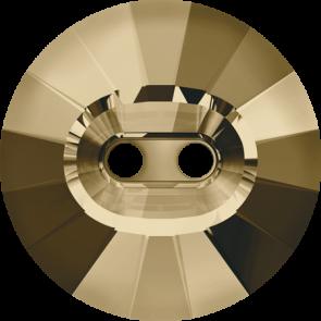 Nasturi Swarovski 3019 Crystal Golden Shadow (001 GSHA) 14 mm