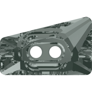 Nasturi Swarovski 3052 Black Diamond F (215) 26 mm