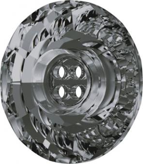 Nasturi Swarovski 3008 Crystal Silver Night (001 SINI) 12MM