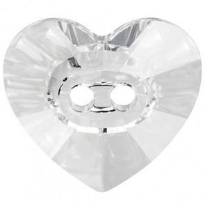 Nasturi Swarovski 3023 Crystal (001) 14 x 12 mm - Inimioare