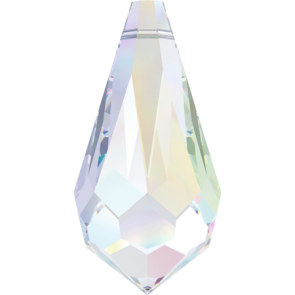 Pandantiv Swarovski 6000 Crystal AB 11,0 x 5,5 mm