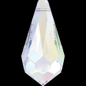 Pandantiv Swarovski 6000 Crystal AB 13,0 x 6,5 mm