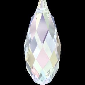 Pandantiv Swarovski 6010 BRIOLETTE PENDANT Crystal AB (001 AB) 17,0 x 8,5 mm