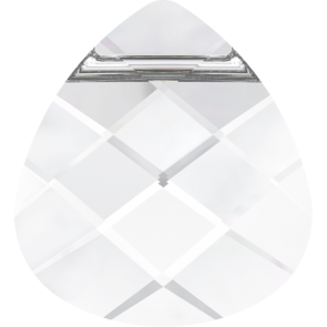 Pandantiv Swarovski 6012 FLAT BRIOLETTE Crystal (001) 11,0 x 10,0 mm
