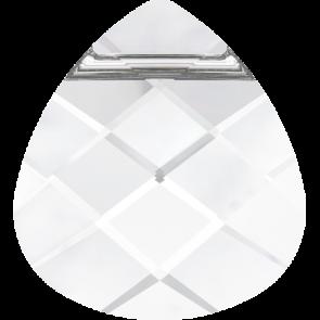 Pandantiv Swarovski 6012 FLAT BRIOLETTE Crystal (001) 15,4 x 14,0 mm