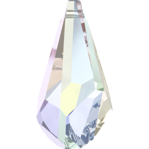 Pandantiv Swarovski 6015 POLYGON DROP Crystal AB (001 AB) 21 mm
