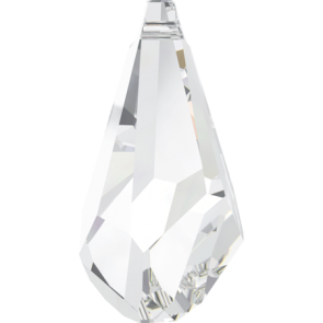 Pandantiv Swarovski 6015 POLYGON DROP Crystal (001) 50 mm