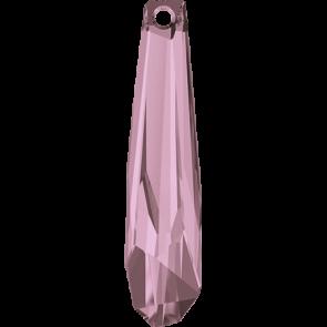 Pandantiv Swarovski 6017/G CRYSTALACTITE PEND.GRAND Crystal Antique Pink V (001 ANTPV) 56 mm