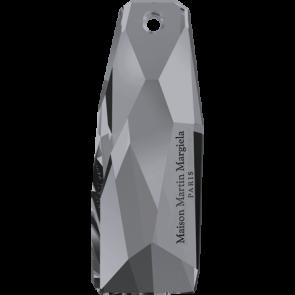 Pandantiv Swarovski 6018/G THE PETITE CRYSTALACTITE Crystal Silver Night (001 SINI) 35 mm