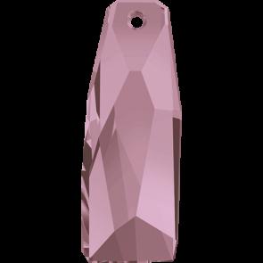 Pandantiv Swarovski 6019/G CRYSTALACTITE PEND.PETITE Crystal Antique Pink V (001 ANTPV) 35 mm