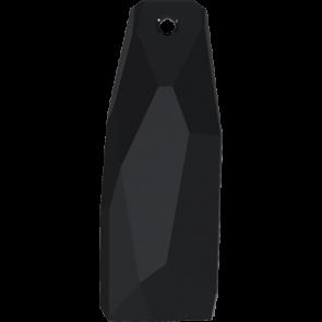 Pandantiv Swarovski 6019/G CRYSTALACTITE PEND.PETITE Jet (280) 35 mm