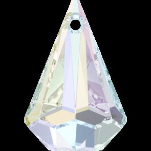 Pandantiv Swarovski 6022 XIRIUS RAINDROP PENDANT Crystal AB (001 AB) 33 mm