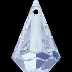 Pandantiv Swarovski 6022 XIRIUS RAINDROP PENDANT Crystal Blue Shade (001 BLSH) 33 mm