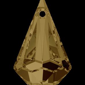 Pandantiv Swarovski 6022 XIRIUS RAINDROP PENDANT Crystal Bronze Shade (001 BRSH) 33 mm