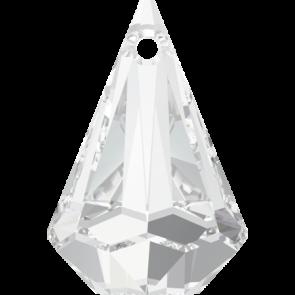 Pandantiv Swarovski 6022 XIRIUS RAINDROP PENDANT Crystal (001) 33 mm