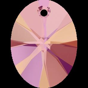 Pandantiv Swarovski 6028 XILION OVAL PENDANT Crystal Astral Pink (001 API) 8 mm
