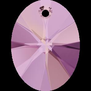 Pandantiv Swarovski 6028 XILION OVAL PENDANT Crystal Lilac Shadow (001 LISH) 18 mm