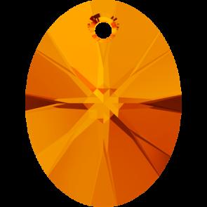 Pandantiv Swarovski 6028 XILION OVAL PENDANT Tangerine (259) 8 mm