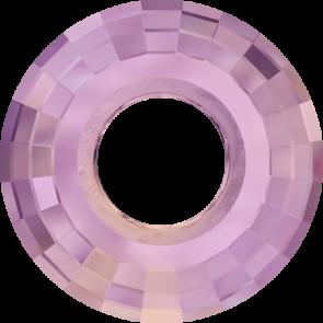 Pandantiv Swarovski 6039 DISK PENDANT Crystal Lilac Shadow (001 LISH) 38 mm