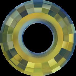 Pandantiv Swarovski 6039 DISK PENDANT Crystal Iridescent Green (001 IRIG) 38 mm