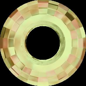 Pandantiv Swarovski 6039 DISK PENDANT Crystal Luminous Green (001 LUMG) 25 mm