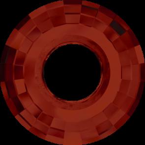 Pandantiv Swarovski 6039 DISK PENDANT Crystal Red Magma (001 REDM) 25 mm