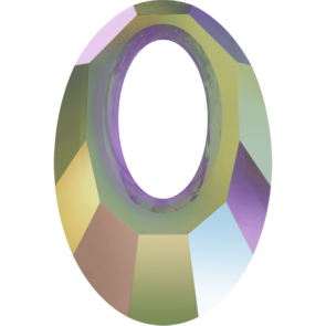 Pandantiv Swarovski 6040 HELIOS PENDANT Crystal Paradise Shine (001 PARSH) 30 mm