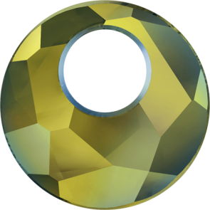 Pandantiv Swarovski 6041 VICTORY PENDANT Crystal Iridescent Green (001 IRIG) 18 mm