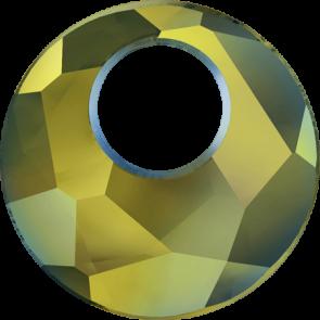 Pandantiv Swarovski 6041 VICTORY PENDANT Crystal Iridescent Green (001 IRIG) 28 mm
