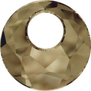 Pandantiv Swarovski 6041 VICTORY PENDANT Crystal Bronze Shade (001 BRSH) 18 mm