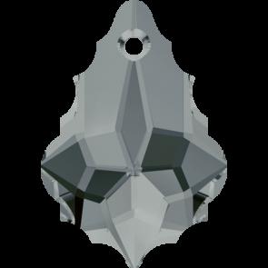 Pandantiv Swarovski 6090 BAROQUE PENDANT Black Diamond (215) 16,0 x 11,0 mm