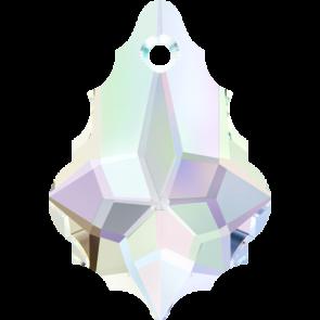 Pandantiv Swarovski 6090 BAROQUE PENDANT Crystal AB (001 AB) 16,0 x 11,0 mm