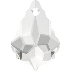 Pandantiv Swarovski 6090 BAROQUE PENDANT Crystal (001) 16,0 x 11,0 mm