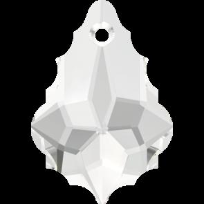 Pandantiv Swarovski 6090 BAROQUE PENDANT Crystal (001) 22,0 x 15,0 mm