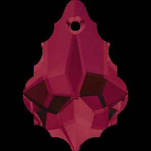 Pandantiv Swarovski 6090 BAROQUE PENDANT Ruby (501) 16,0 x 11,0 mm