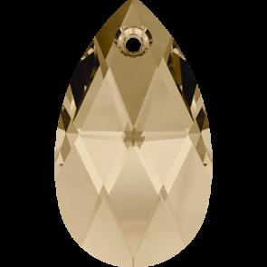 Pandantiv Swarovski 6106 Crystal Golden Shadow (001 GSHA) 16 mm