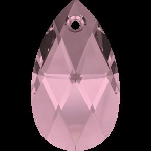 Pandantiv Swarovski 6106 Crystal Antique Pink (001 ANTP) 16 mm