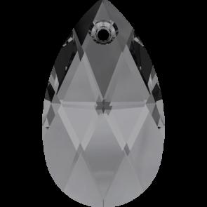 Pandantiv Swarovski 6106 Crystal Silver Night (001 SINI) 16 mm