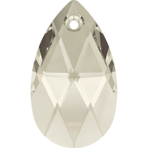 Pandantiv Swarovski 6106 Crystal Silver Shade (001 SSHA) 16 mm