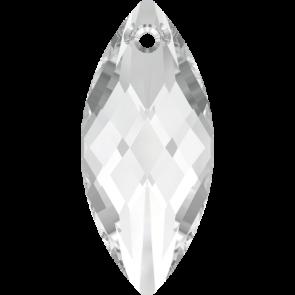 Pandantiv Swarovski 6110 NAVETTE PENDANT Crystal (001) 30 x 14 mm