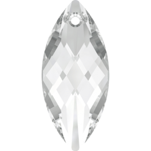 Pandantiv Swarovski 6110 NAVETTE PENDANT Crystal (001) 40 x 18 mm