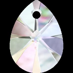 Pandantiv Swarovski 6128 XILION MINI PEAR PENDANT Crystal AB (001 AB) 10 mm