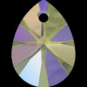 Pandantiv Swarovski 6128 XILION MINI PEAR PENDANT Crystal Paradise Shine (001 PARSH) 10 mm